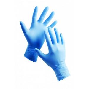 рукавички одноразові припудрені