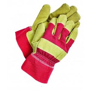 Утеплені комбіновані рукавички